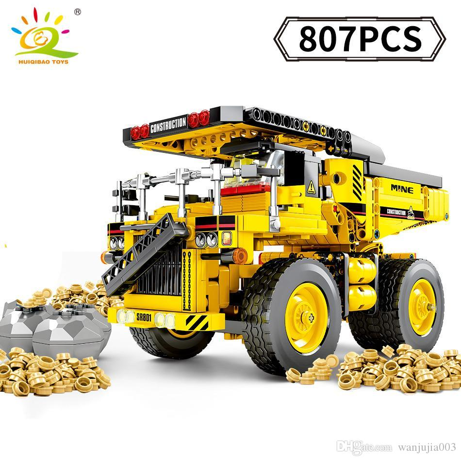 Lorry Back Bucket  YELLOW Tipper Truck Lego Technic Construction