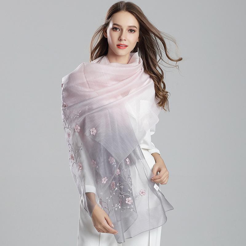 Femmes Hiver Foulard Imprimé Animal épais réel laine chaud grand châle femme foulard