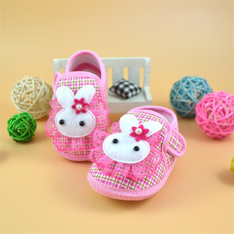 Baby Shoes Newborn Girl Boy Cartoon Rabbit Soft Sole Crib Toddler Shoes Canvas First Walker NDA84L24 (4)