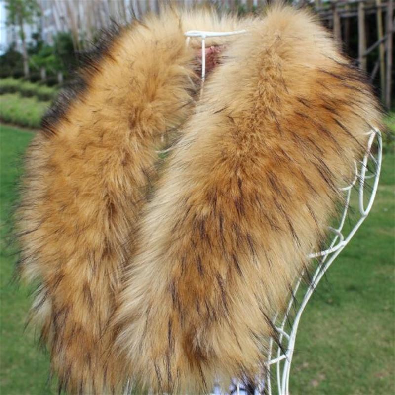 Женщины новый искусственный мех лисы воротник многоцветный платок меховой воротник женский мода осень и зима теплые шарфы шали