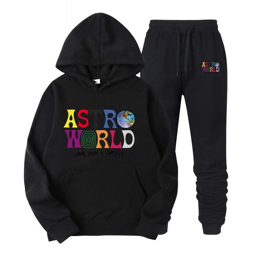 Travis Scott Astroworld DİLERİZ BURADA Ve Kadın Kazak Kazak 01 Kapüşonlular Moda Letter Baskı Hoodie Streetwear Adam VARDI