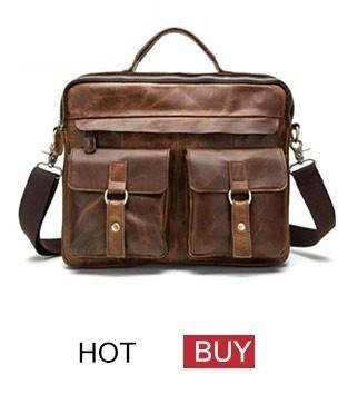 genuine leather bag men bag male (5)