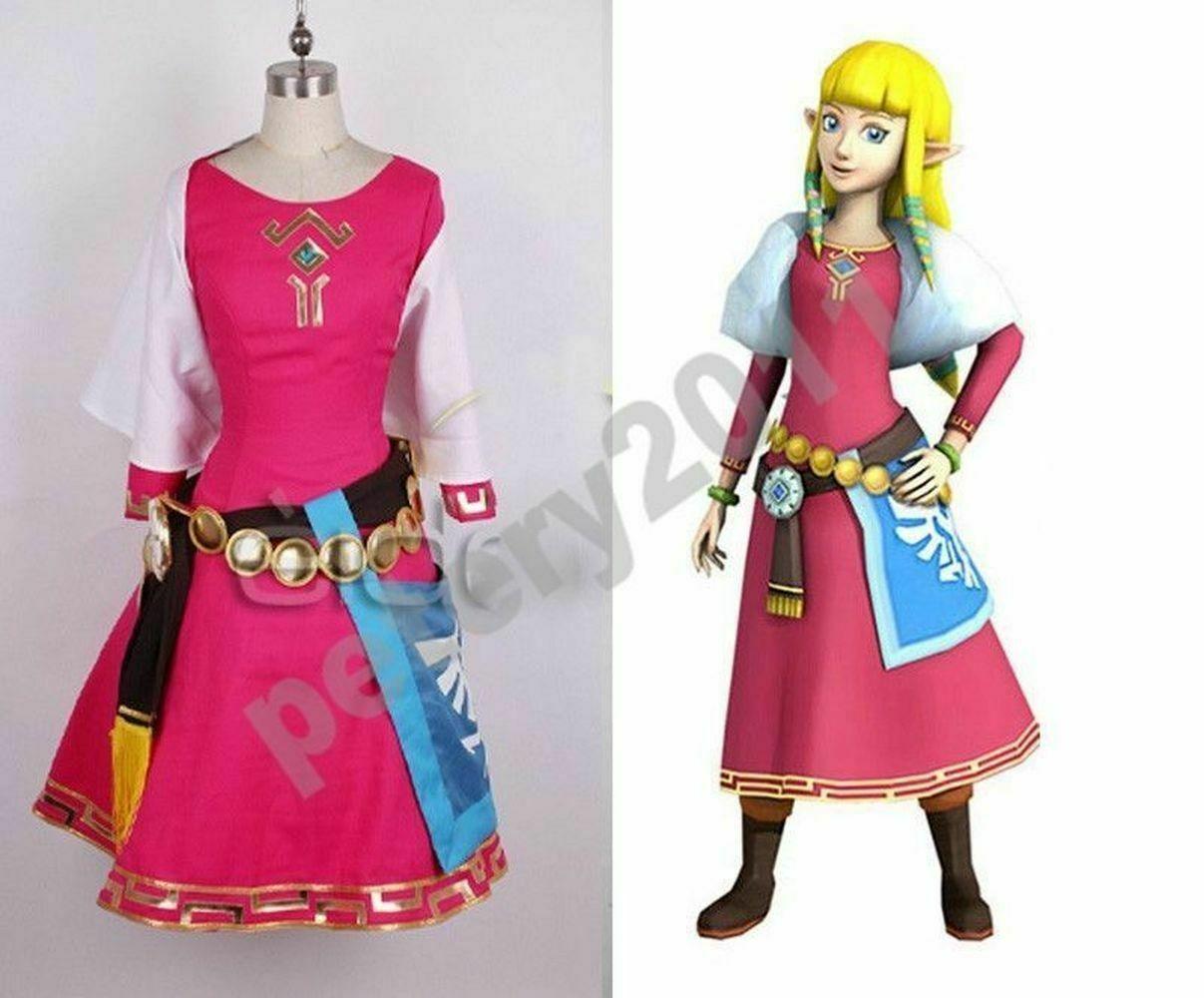 Zelda cosplay nackt