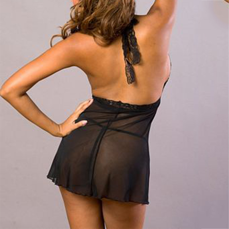 Night Dress ED4150BK (5)