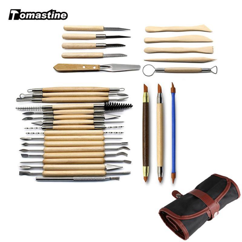 Cera De Acero Inoxidable Pastel de Talla de Carver Set Kit de Herramienta de Arcilla haciendo modelado Craft
