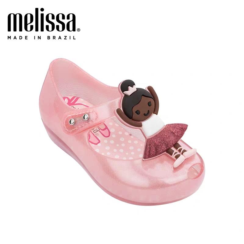 Toddler Kids Girls Sandals Mini Melissa Summer Mermaid Jelly Baby Princess Shoes