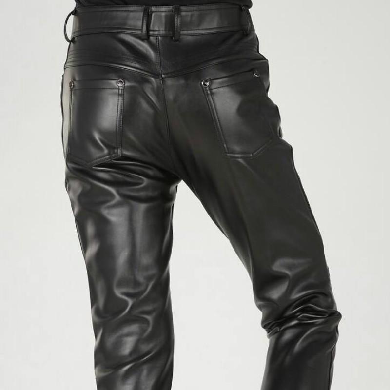 Bockle/® New Dangerous Pantalon en Cuir Home Biker Moto