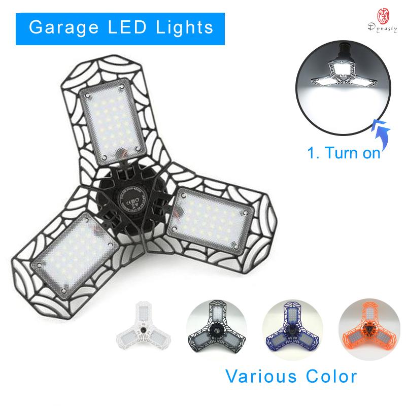 1 Stück LED Licht Verformbar E27 40W ABS 6500K Super hell Garage Verkauf