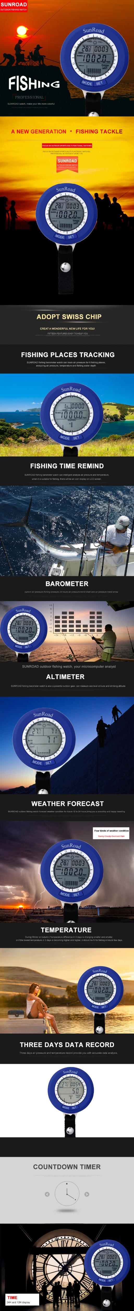 Sunroad fishing barometer SR204 description photo 01