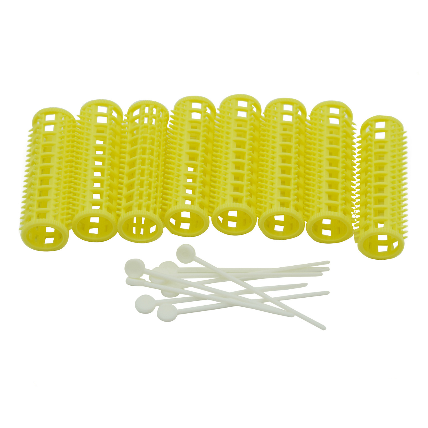 15mm Plastic Tooth Hair Roller with Fixed Pins Teeth Bars for Air Bang Curling Rods Curlers Hairdresser Styling U1195
