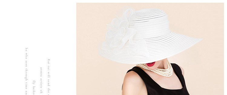 4 elegant hats for women