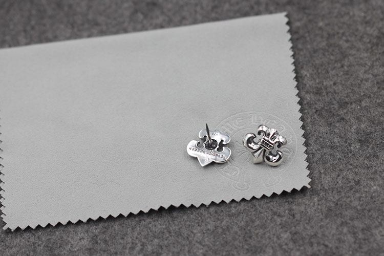 S925 sterling silver brooch personality retro punk style Iris flower pin hip-hop cross-stitch shawl needle lover's gift jewelry
