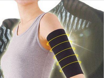 UK/_ EG/_ WOMEN WEIGHT LOSS CALORIE OFF FAT BUSTER ARM SHAPER SLIMMER WRAP BELT FI