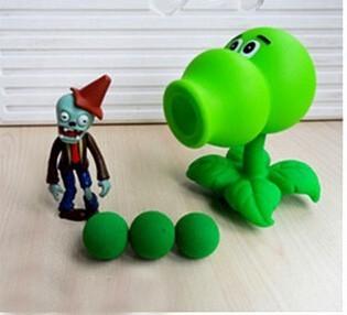 25 Стили Новые Популярные игры ПВЗ Растения против Зомби Действие Рисунок Модель игрушки 10см Растения против Зомби
