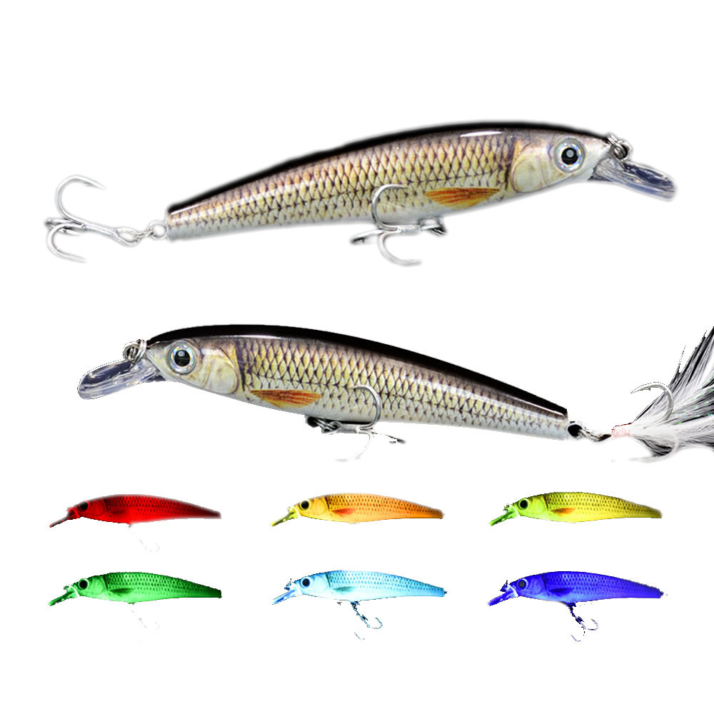 Rechargeable Twitching Lure Fishing Flashing Vibrating Jerking LED