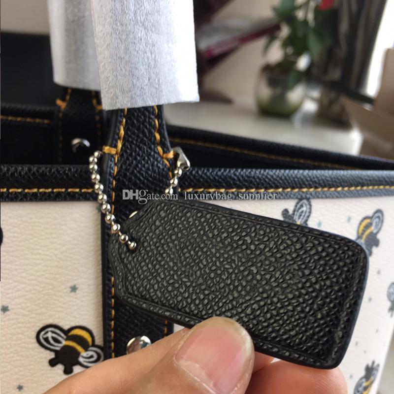 Tasarımcı Lüks Çanta Çantalar Çanta Kadın Klasik Yüksek Kalite Arı Meyve Iki taraflı Çift kullanımlı Kirpik Paketi Alışveriş Çantası Lady Casual Tote