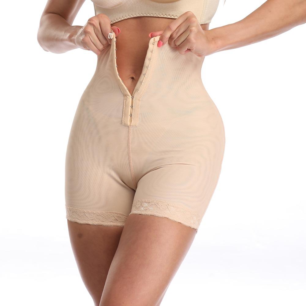 Waist trainer Butt Lifter shaper women modeling strap Body Shaper Slimming Underwear Shapewear Slimming Belt Faja tummy shaper (8)