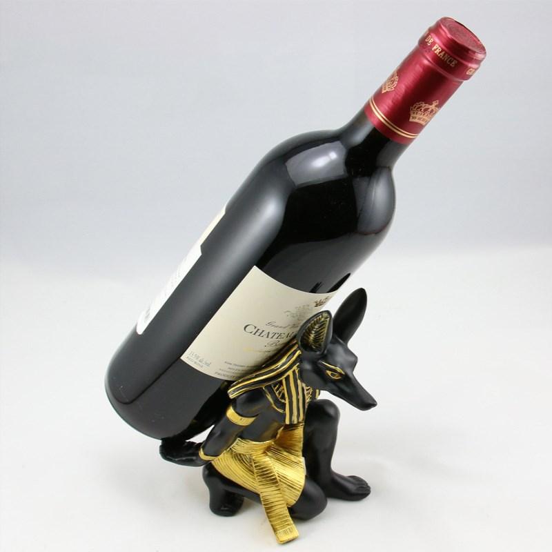 Escarpin Support à Vin Porte Bouteille Rangement Décor de Bar Champagne