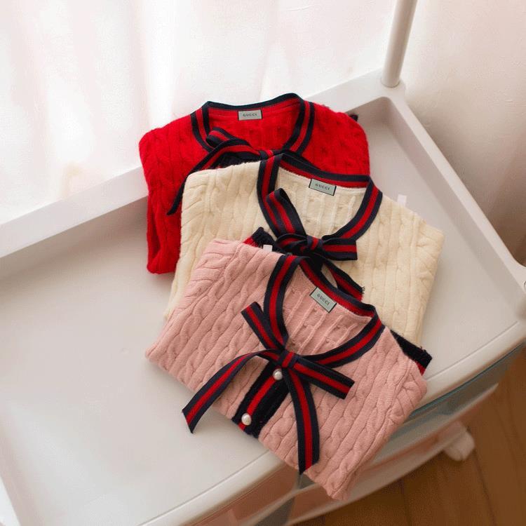 ragazze cardigan Edizione coreana Vestiti bambini Maglioni bambini Abbigliamento moda bambini 2018