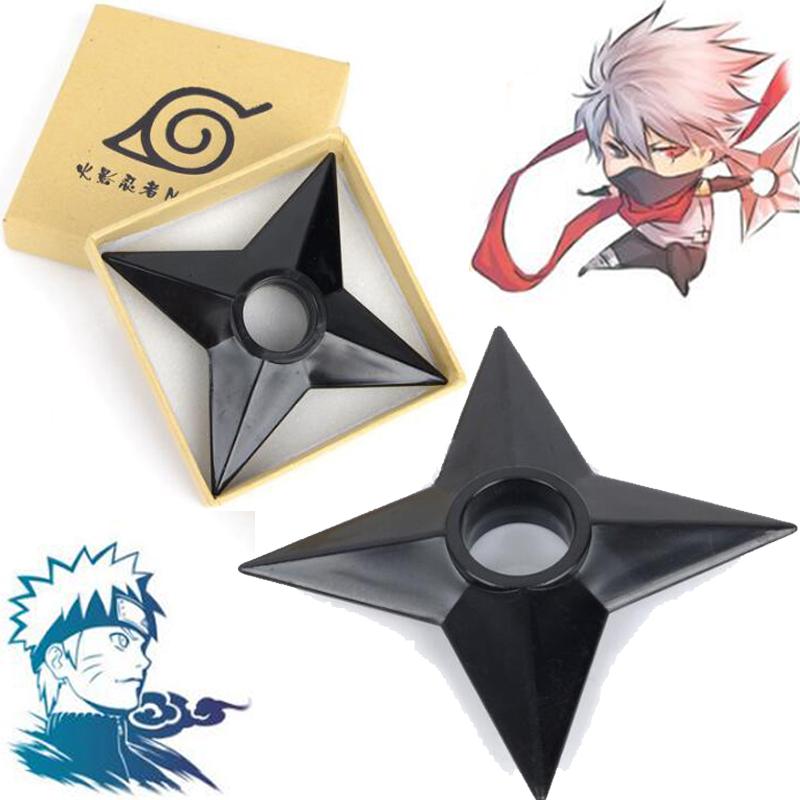 3pcs//set 13cm Naruto Kunai de Plástico Japonês Adereços cosplay Ninja Ótimo Presente Ds