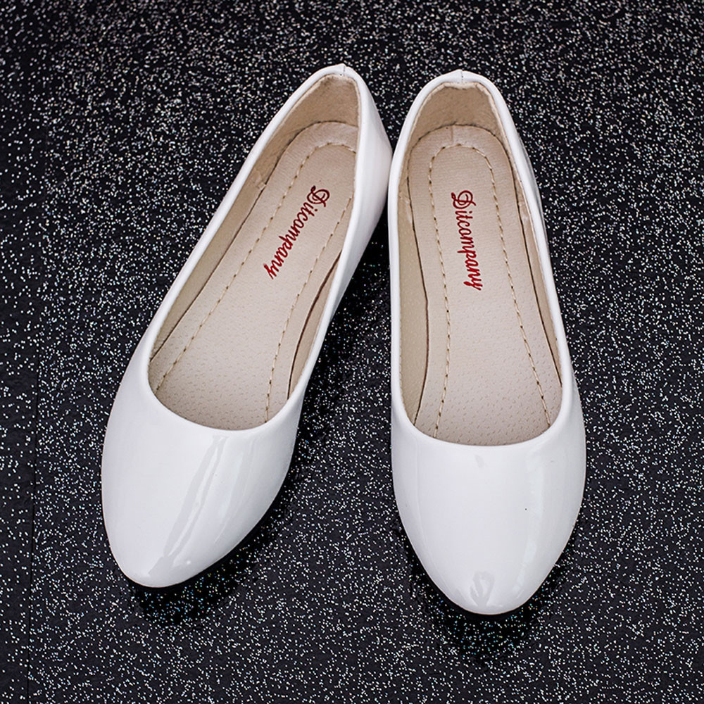 Designer Dress Shoes Women New Women's Single Korean Fashion Black Pointed High Heels Pointed Toe Leather Slip On Casual Loafers #89