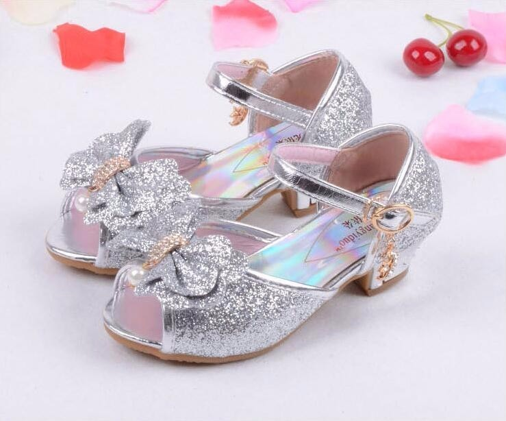 Girls Princess Leather Shoes-16