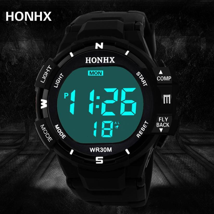 Male Analog Led Digital Military Army Sport Outdoor Waterproof Wristwatches Mechanical Watch For Men Silionce Watches