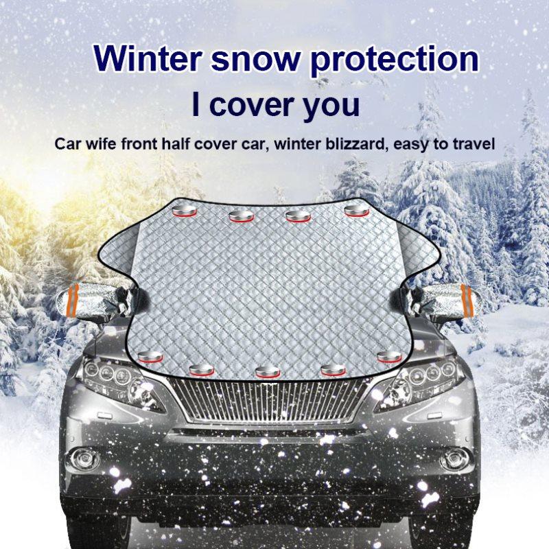 Copertura Parabrezza Auto Protegge,Perfetto per Sun,ghiaccio,neve e gelo Guardia in All Weather