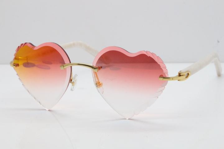 Lunettes de soleil amour en forme de Coeur Lolita Lunettes de Soleil Anti UV Vacances Plage Été Nouveau