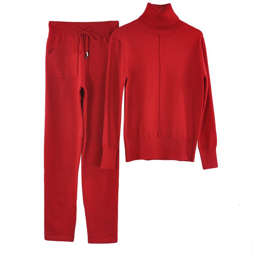 lined knit suit COLOR (2)