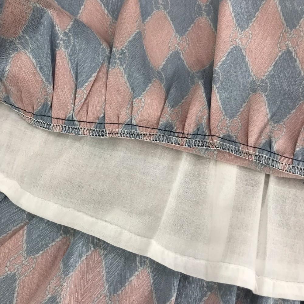 Дети Дизайнер Одежда Одежда для девочек Платье Осень Квадратный Плед Платья Легкое И Дышащее Атласное Шелковое Платье