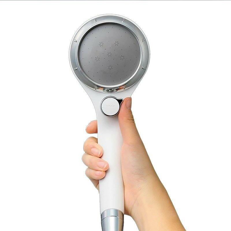 Водосберегающая насадка для душа с выключателем остановки воды Ручные насадки высокого давления с регулируемым расходом Распылители для ванны