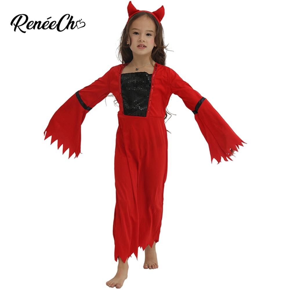 Corna del diavolo Spaventoso lungo # Corna Halloween Costume di Scena Fascia Per Capelli