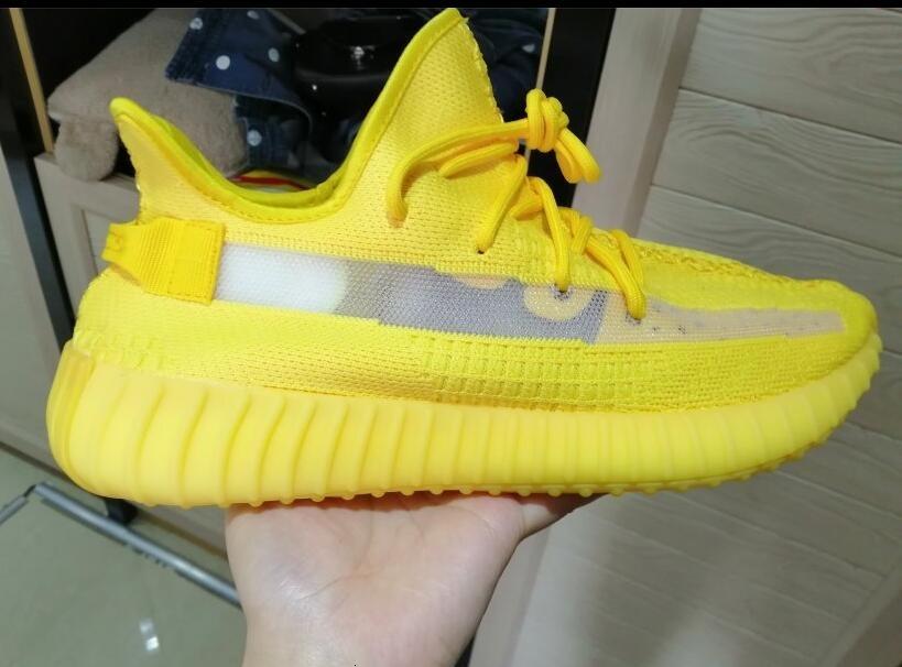2019 V2 Kanye West Gerçek Formu Siyah Yansıtıcı Statik Gid Glow Kil Zebra Krem Beyaz Beluga 2.0 Susam Koşu Ayakkabıları Tasarımcı Sneakers