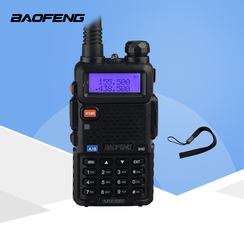 BAOFENG UV-5XP 8W VHF//UHF Dual Band Two Way Ham Radio Transceiver Walkie Talkies