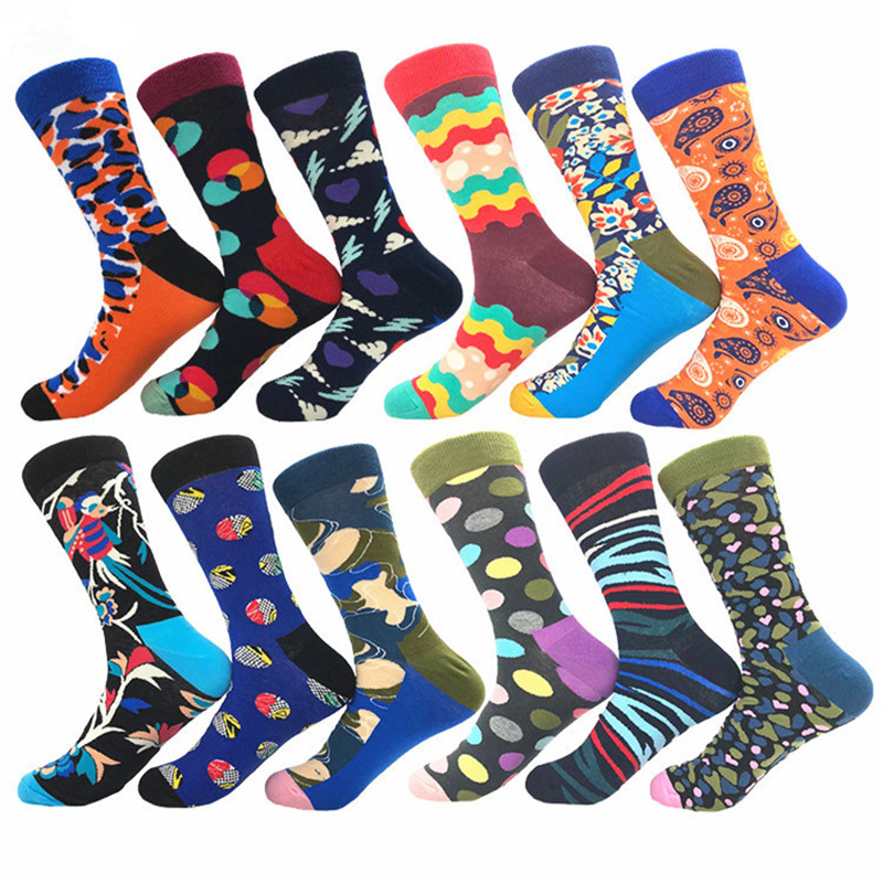Cartoon Rocket Astronaut Casual Cotton Crew Socks Cute Funny Sock,great For Sports And Hiking