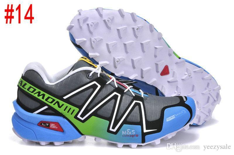 Salm Peedcross 3 Trail Best Quality Women Outdoor Cheap Running Shoes An Jogging Sports Fashion Sneakers Outdoor Walking Us5-9