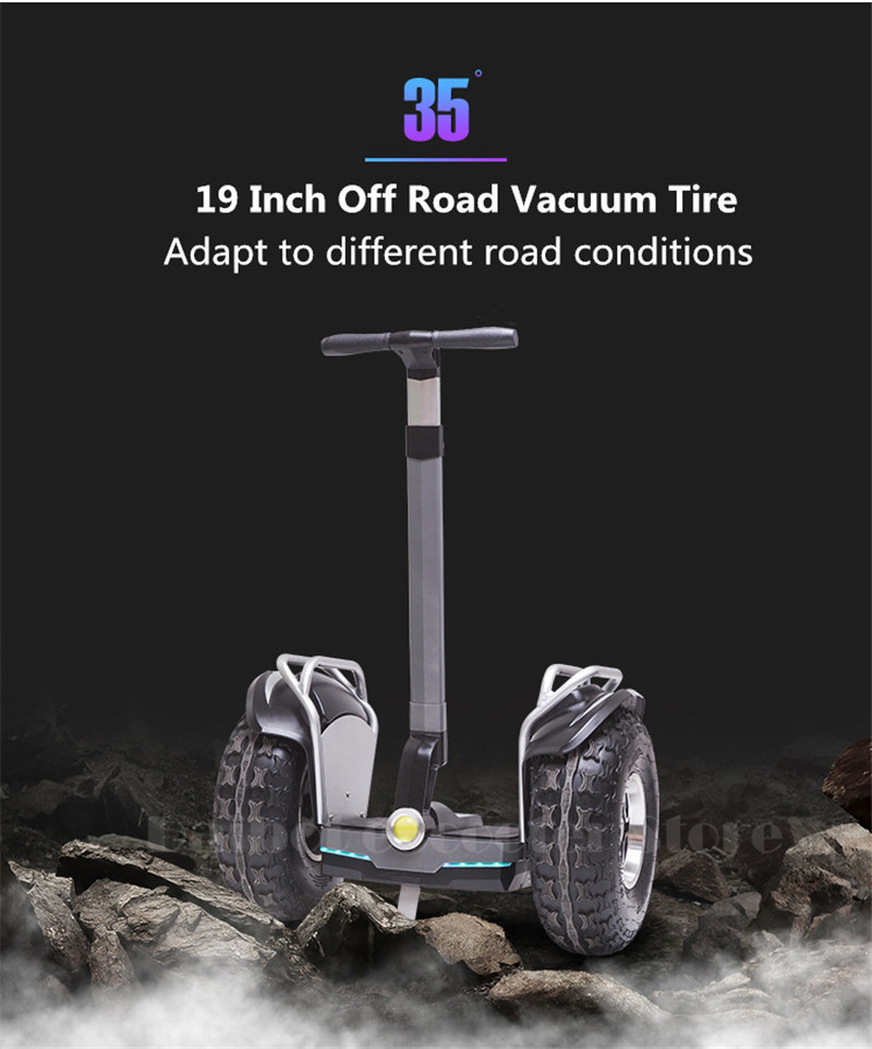 Daibot 2019 New Powerful Electric scooter Two Wheels Double Driver 60V 2400W Off Road Big Tire Adults Hoverboard Scooter (1)