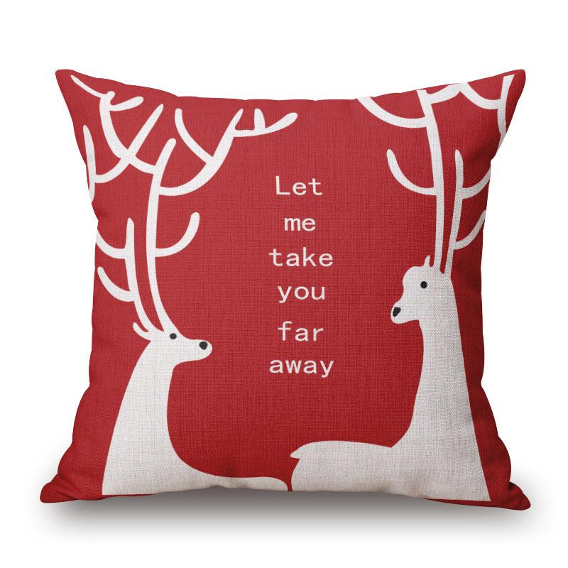Personality Literature Pillow Cotton Cushion Set Come Picture Personalizza