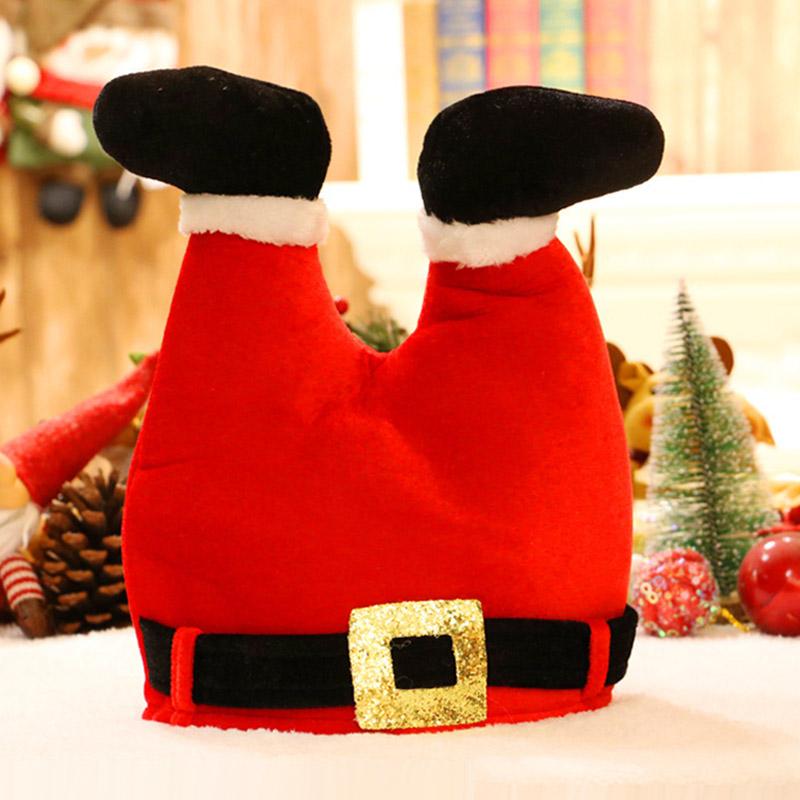 NATALE CAPPELLI Festa Costume Accessorio Ufficio Festa Babbo Natale Segreto CAPPELLO REGALO