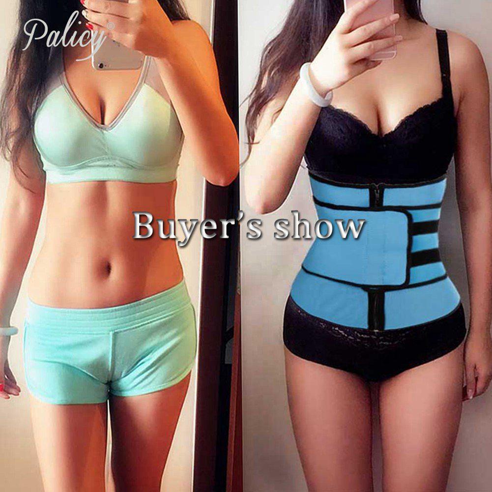 wholesale S-3XL Waist Trainer Body Shaper Tummy Control Shapewear Waist Protect Neoprene Slimming Belt Women Corset for Weight Loss