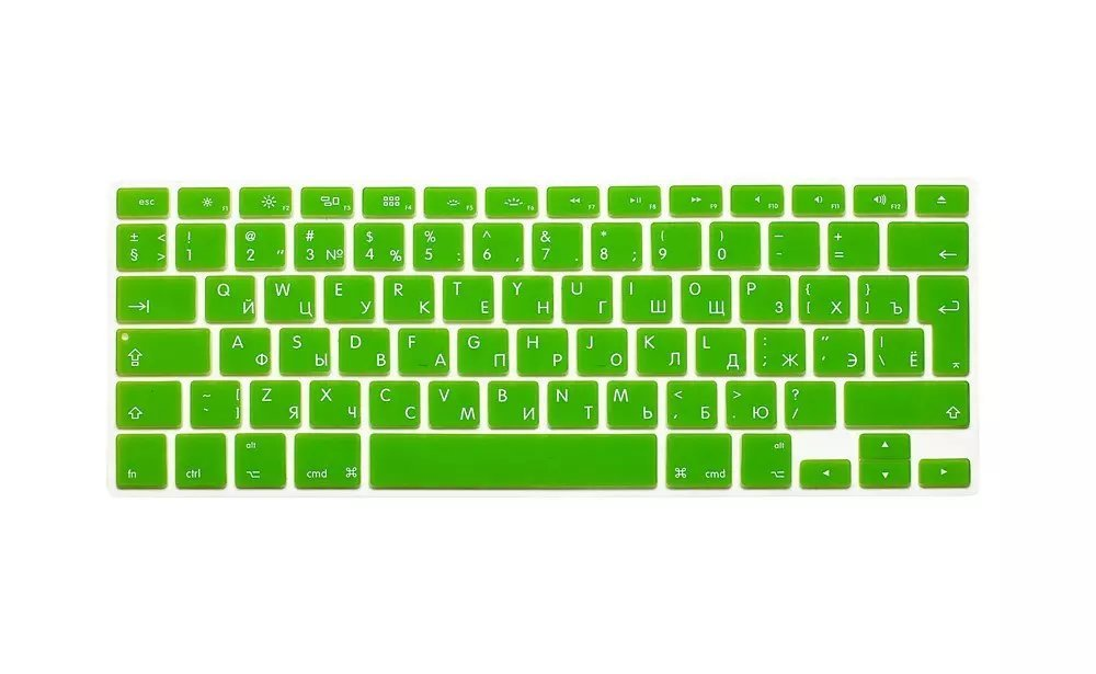 EU US Soft Silicon For Macbook Air 13 A1466 Keyboard Cover Russian Language Cover For Macbook Air 13 Retina13 Keyboard Cover (5)
