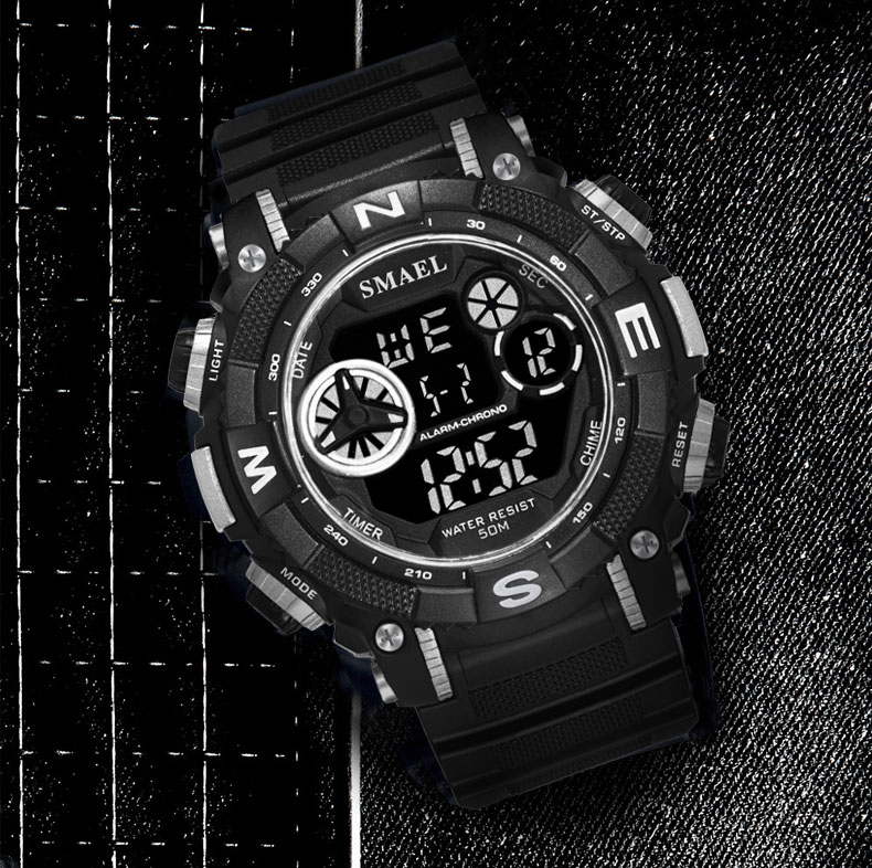 Digital Wristwatches Sports Waterproof SMAEL Watch S Shock