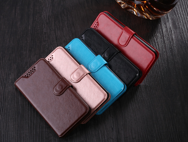 Flip Cover Case PU Leather Phone Bags with Stand Function Cases