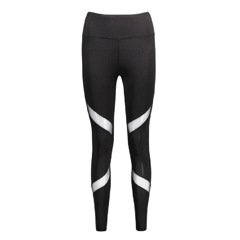 Quick-drying-Net-Yarn-Yoga-Pants-Black-High-Waist-Elastic-Running-Fitness-Slim-Sport-Pants-Gym (4)