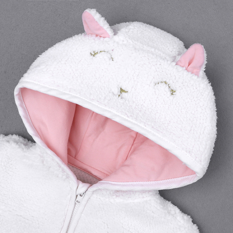 Autumn Winter baby coat love girls outfits boys clothes warm hooded long sleeve coat bebe costume (2)