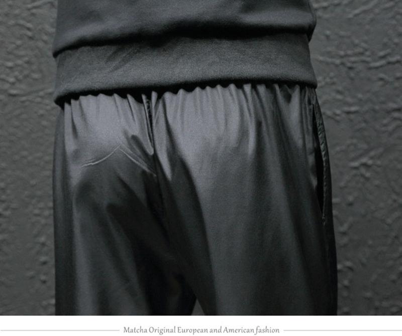 Loose Hip Hop Cargo Pants Men Camouflage Patchwork Harem Mens Trousers Streetwear (27)
