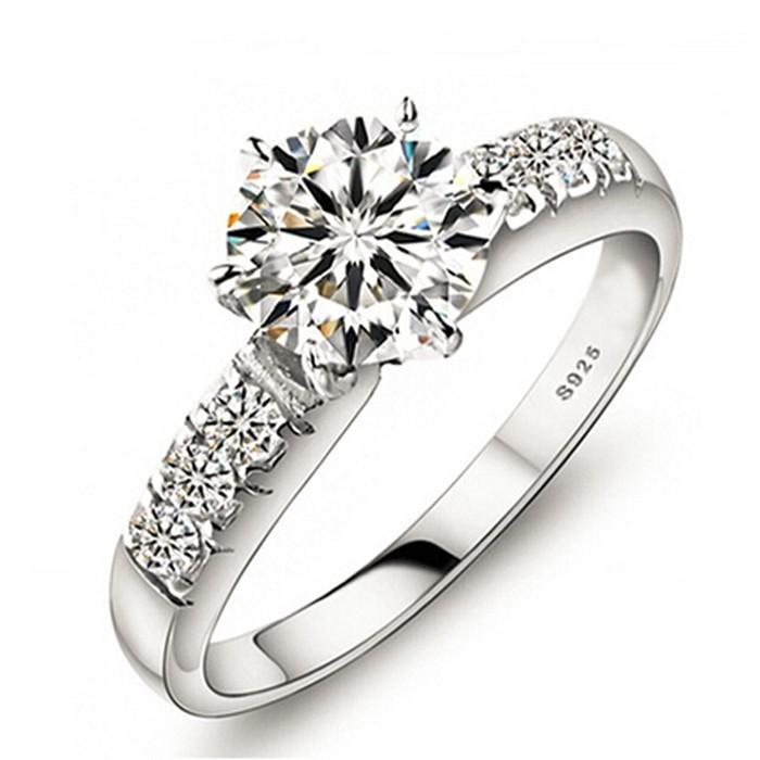 Send-Certificate-of-Silver-100-925-Sterling-Silver-Wedding-Rings-For-Women-Luxury-0-75-Carat