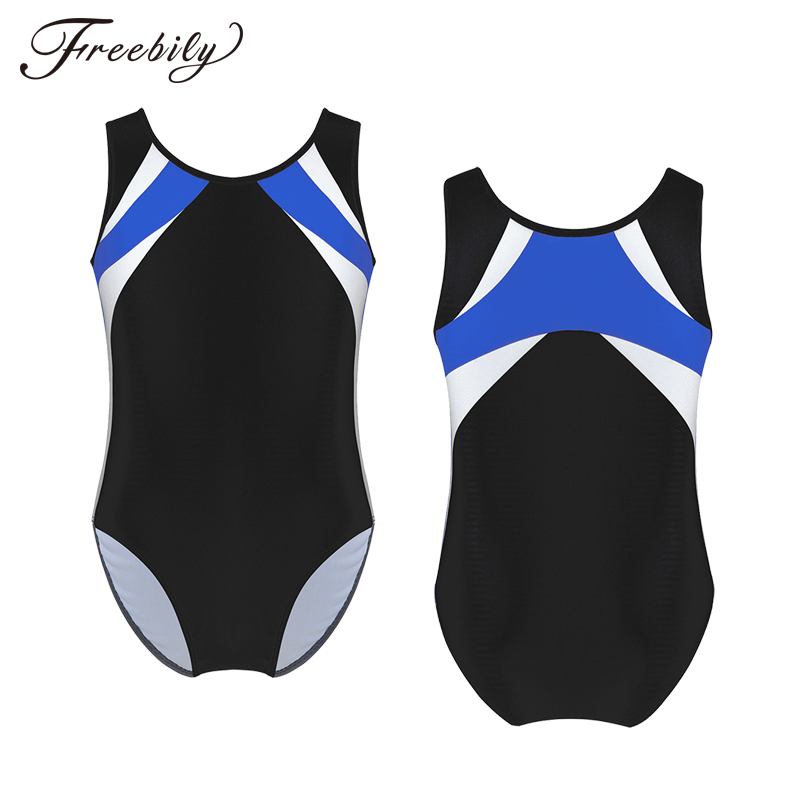 Freebily Girls Athletic Tracksuits Clothing Sets Camisole Tank Leotard Crop  Tops with Bottoms for Gymnastic Sport Dancing Active Top & Bottom Sets  Active