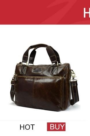 genuine leather bag men bag male (1)